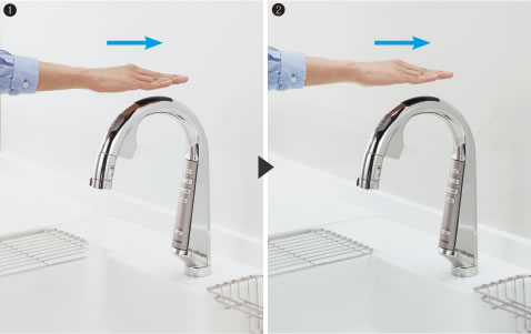 タッチレス自動水栓